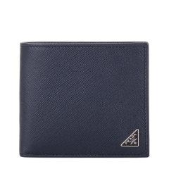 PRADA/普拉达男士Saffiano多色牛皮短款钱夹 短夹 钱包2M0738图片