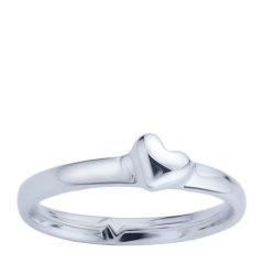 【Designer Jewelry】angs/谙诗 心电图戒痕925银情侣对戒指环图片