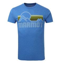 MARMOT/土拨鼠春夏新款情侣透气舒适超轻棉面料圆领短袖T恤F900453图片
