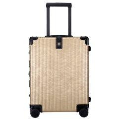 LIEMOCH/利马赫 20寸登机箱其它材质金属不锈钢旅行箱 拉杆箱男女士行李箱万向轮适用人群:青年 其他材质中性款式图片