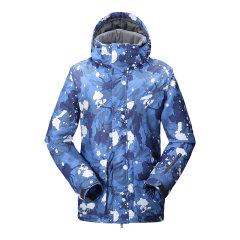 VILL/VILL 男款滑雪服 户外防风防水保暖滑雪羽绒服外套图片