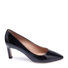 Salvatore Ferragamo/菲拉格慕牛漆皮材质尖头设计女士高跟鞋图片