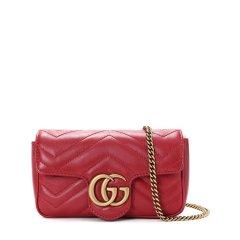预售 2周左右发货 GUCCI/古驰 19春夏 GG Marmont 女士单肩包 超迷你 476433 牛皮革图片