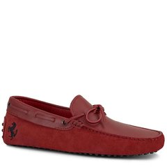 Tod's/托德斯男士男士乐福鞋Tod's for Ferrari小山羊皮豆豆鞋图片
