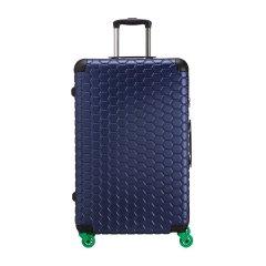 CARPISA/CARPISA 中性款式男女通用树脂/聚碳酸酯蜂窝状图案万向轮旅行箱行李箱拉杆箱 28寸图片