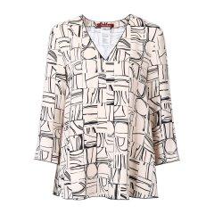 MAXMARA DAILY 纯色 时尚条纹 女士长袖衬衫 ROSETO图片