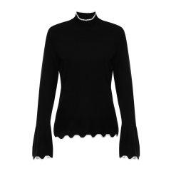 【18秋冬新款】ARMANIEXCHANGE/ARMANIEXCHANGE女士针织衫/毛衣-女士毛衫图片