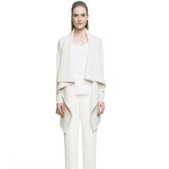Zynni Cashmere 超柔软纯羊绒时尚披肩式开衫外套3213A图片