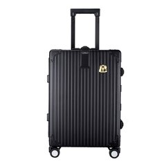 LIEMOCH/利马赫爱勒系列全铝镁合金20寸登机箱男士行李箱拉杆箱女密码箱子中性款式旅行箱银色适用人群:青年图片