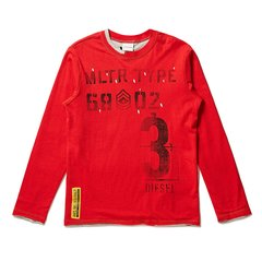 DIESEL KIDS 迪赛 男童长袖T恤 儿童T恤 1174T008图片
