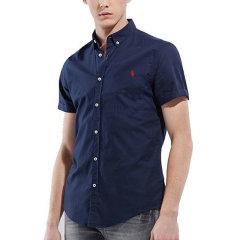 【包税】Ralph Lauren/拉夫劳伦  男士纯色商务休闲短袖衬衫 3560-9628图片