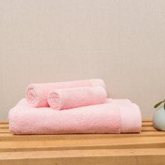 DAPU/大朴[毛方浴套装]纯棉加厚毛巾方巾浴巾3件套纯色擦脸加大加厚图片