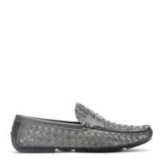 ROBERTA DICAMERINO/诺贝达  新款男鞋一脚蹬编织款男士商务休闲鞋图片