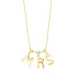 M-LAB/马良行【ones 系列】字母定制锁骨项链 18K金白色/18k金黄色/18K金玫瑰金色5个字母含配链 均码图片