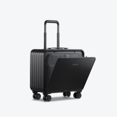 TUPLUS/途加 即刻系列 全铝镁合金拉杆箱轮行李箱 铝框16寸旅行箱 金属万向轮商务登机箱 钻石银 适用人群:女士,男士图片