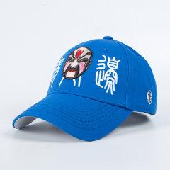 capglobal/冠戒官方帽子男秋冬脸谱刺绣棒球帽情侣款鸭舌帽百搭潮图片