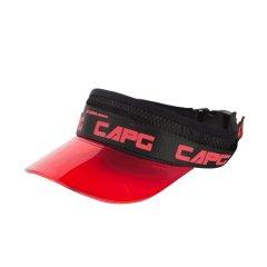 capglobal/冠戒官方 原创长飘带brand马拉松帽子新款透气网空顶帽图片