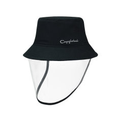 capglobal/冠戒官方新款防护帽女遮脸渔夫帽春夏防飞沫可拆卸帽子图片
