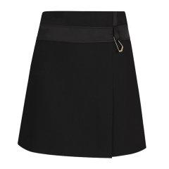 GIAB'S/GIAB'S  19秋冬 爆款 黑色 A字裙 简约 经典 女士半身裙图片