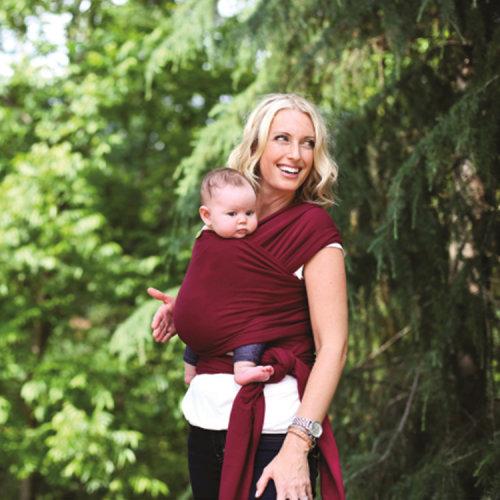 宝宝背巾怎么用图解