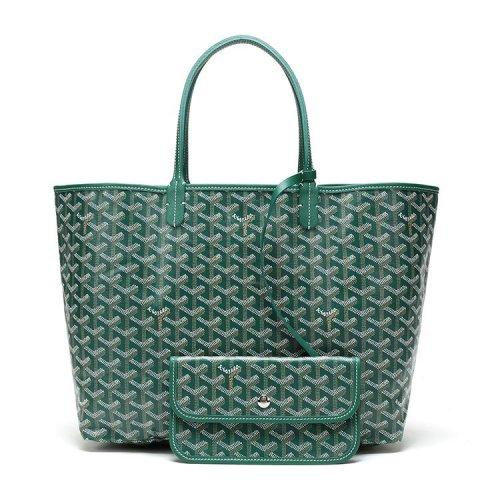 【GOYARD高雅德 单肩包】GOYARD/高雅德 明星同款Saint Louis 时尚女士子母包小号购物袋/单肩包