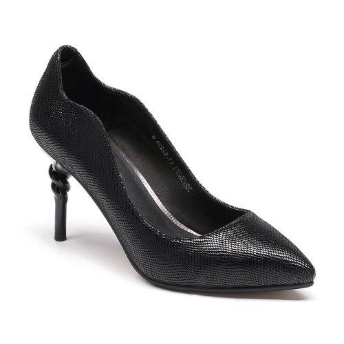 金粉世家高跟时尚时装女式羊皮单鞋JGB1027