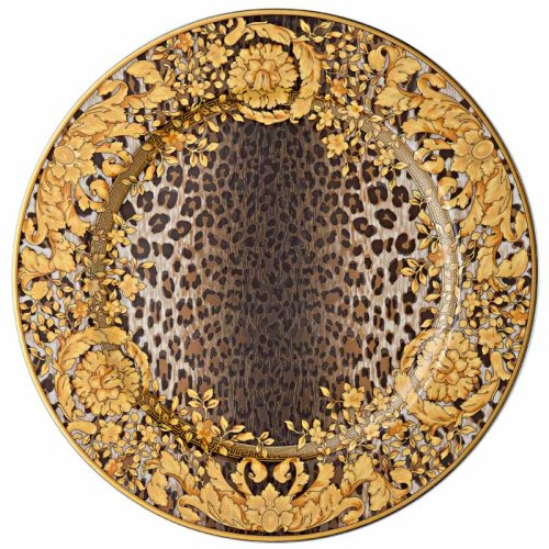 Rosenthal Meets Versace范思哲 20周年限量收藏版彩绘盘挂盘【上海同城闪送】