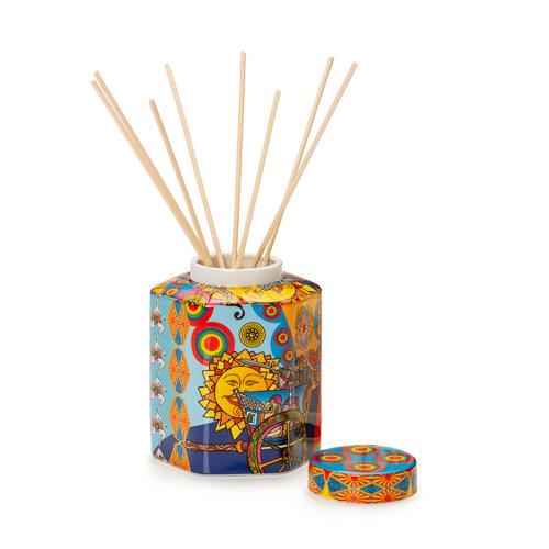 PALAIS ROYAL 意大利品牌 瓷器礼盒 餐具装饰 六边形香薰瓶 地中海风格