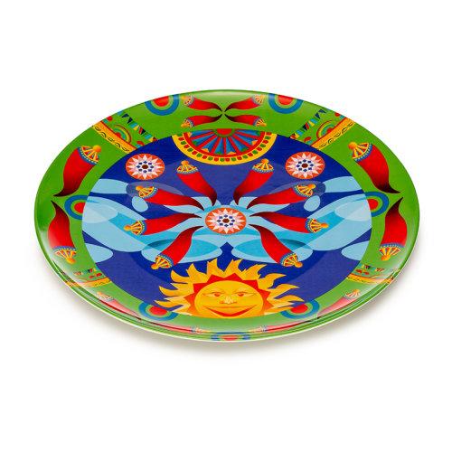 PALAIS ROYAL 意大利品牌 瓷器礼盒 餐具盘子 椭圆浅盘 地中海风格