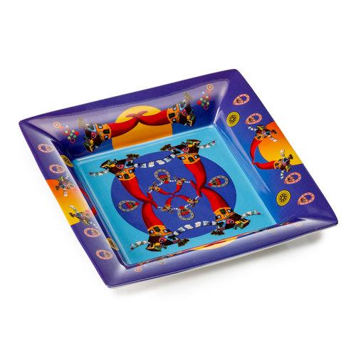 PALAIS ROYAL 意大利品牌 瓷器礼盒 餐具盘子 方盘 地中海风格