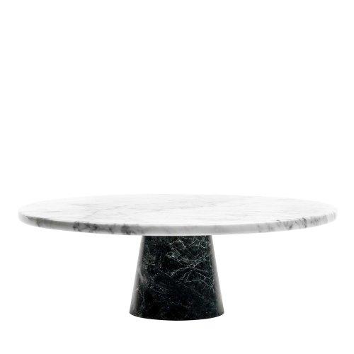 【FiammettaV Home Collection】白色大理石黑底座蛋糕架