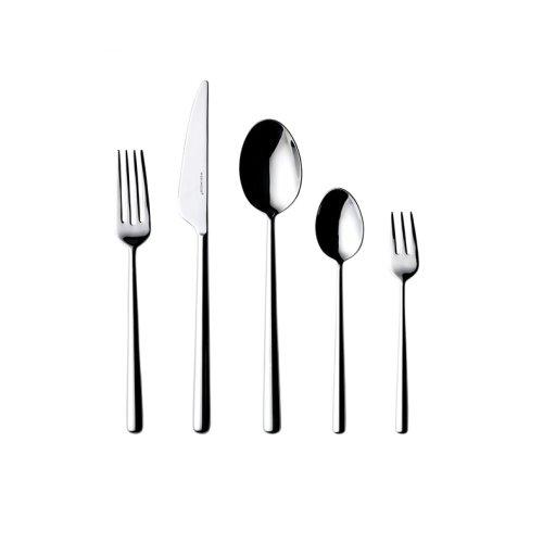 Wedgwood/玮致活 Globe不锈钢西餐刀叉勺五件组欧式礼盒套装40034340
