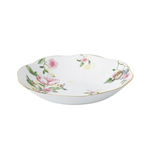Wedgwood/玮致活 绣丽甜梅23cm礼品碗骨瓷餐碗欧式餐具瓷碗
