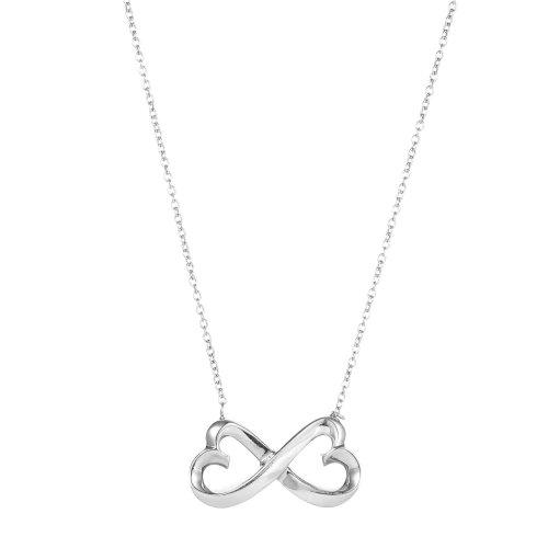 Tiffany Co. 蒂芙尼 925银蝴蝶结形吊坠项链