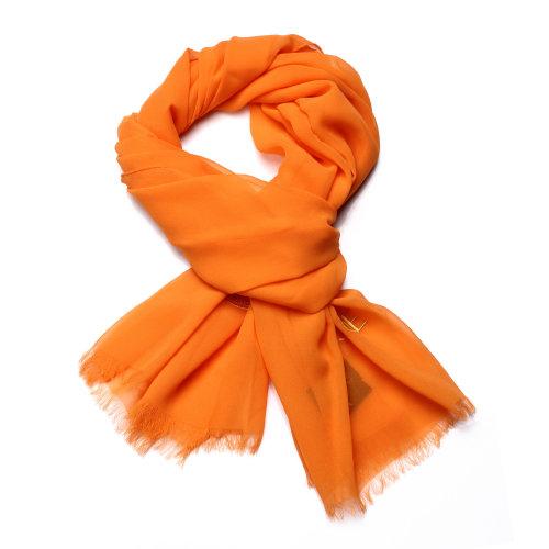 长方形丝巾的各种围法图解