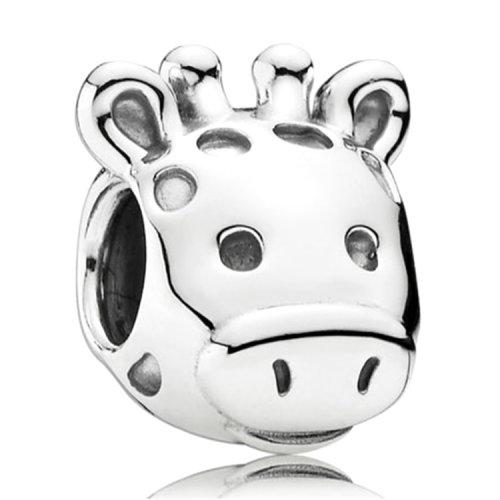 pandora潘多拉 可爱动物---长颈鹿 925纯银串珠791747