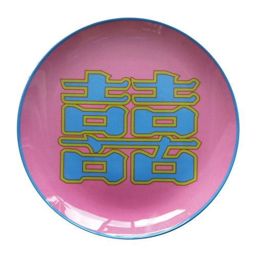 YAANG/YAANG 双喜 彩盘 粉色 AC-PT-X1P