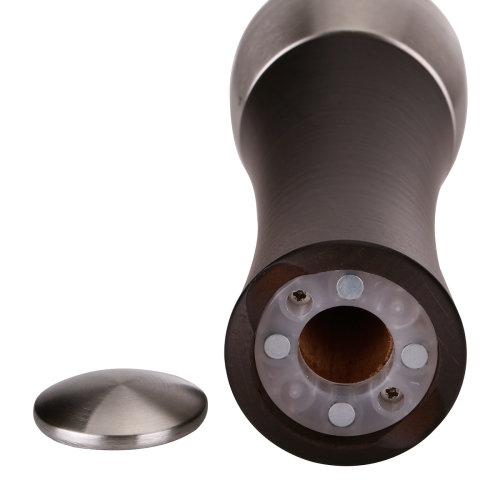 peugeot/标致 法国进口 马德拉斯粗盐研磨器16cm 深咖啡色