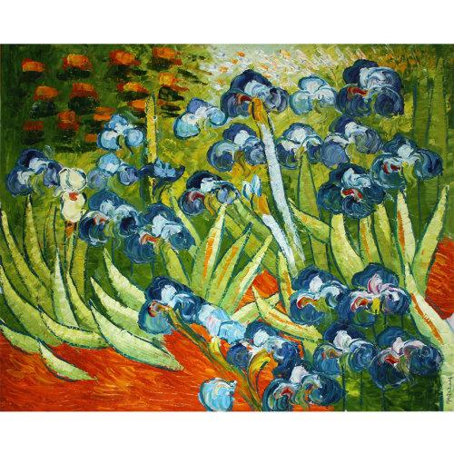 李文东临摹梵高《春》布面油画