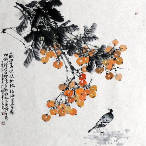 树 传统水墨 写意花鸟 寺库网