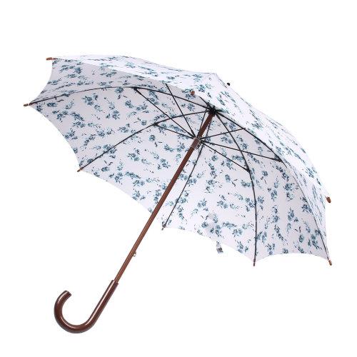 fulton(富尔顿) 青花瓷图案木柄伞kensington_雨伞_和