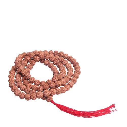 精选天然金刚菩提荔枝纹单珠约8mm108颗佛珠手串