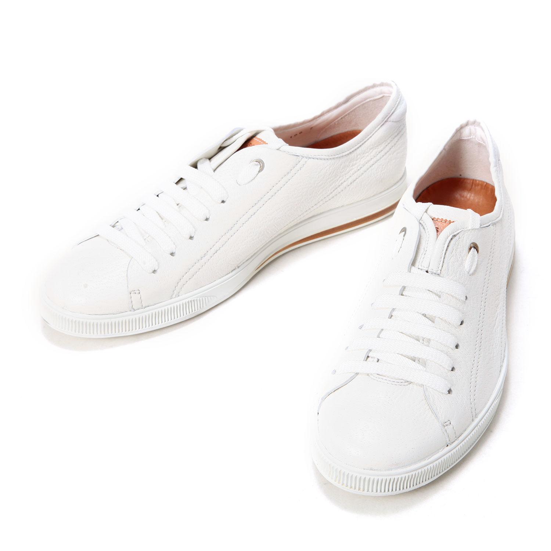 hugo boss白色皮质男士运动鞋