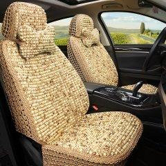 pinganzhe 汽车新款夏季专用菩提子珠子座垫 汽车夏季透气清凉座垫 送菩提头枕一对图片
