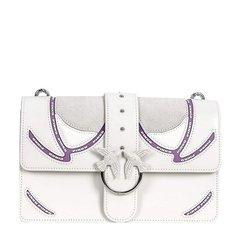 Pinko 品高 19春夏 女士皮革燕子装饰时尚链条单肩斜挎包图片