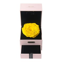 JoyFlower情人节进口永生花礼盒生日礼物十二星座守护首饰盒-12种颜色定制图片