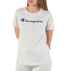 Champion/Champion 19春夏 女士棉质LOGO标识圆领短袖T恤图片