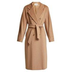 MaxMara/麦丝玛拉     款经典款羊毛腰带女士大衣MADAME MADAME 003图片