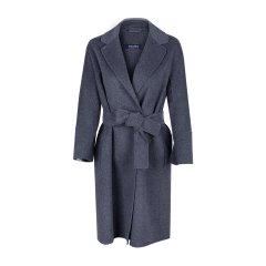 【18秋冬】MaxMara/麦丝玛拉 气质翻领收腰长款羊毛大衣 女士大衣 ARONA90860189图片