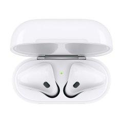 "APPLE/苹果 AirPods 2代 蓝牙耳机 配备全新 苹果H1耳机芯片 ""嘿 Siri"" 免提功能 2019款图片"